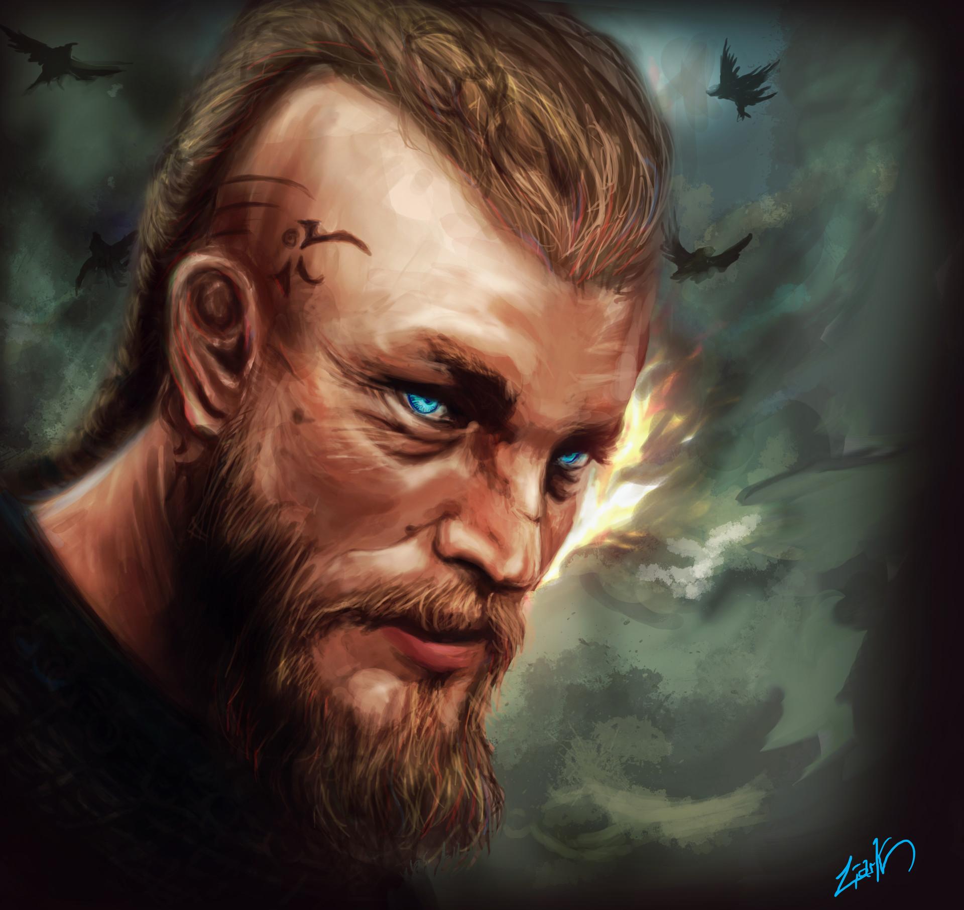 Liark2z a vikings ragnar by liark2z d8qdqoy