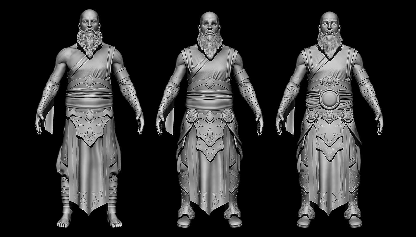 Bennett durfee d3 monk clothing concepts 171024