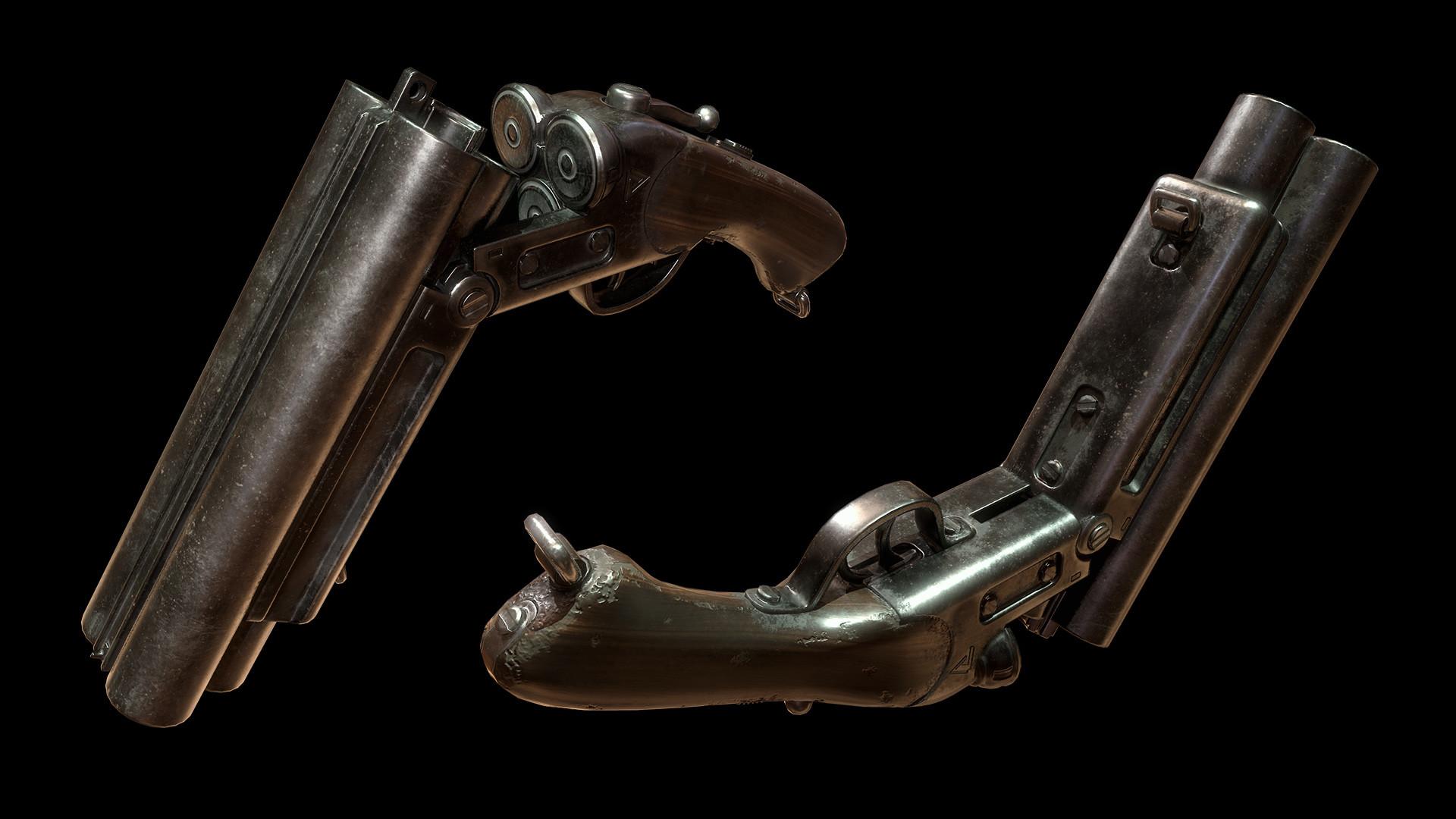 Sergey tyapkin shotgun render 1 1
