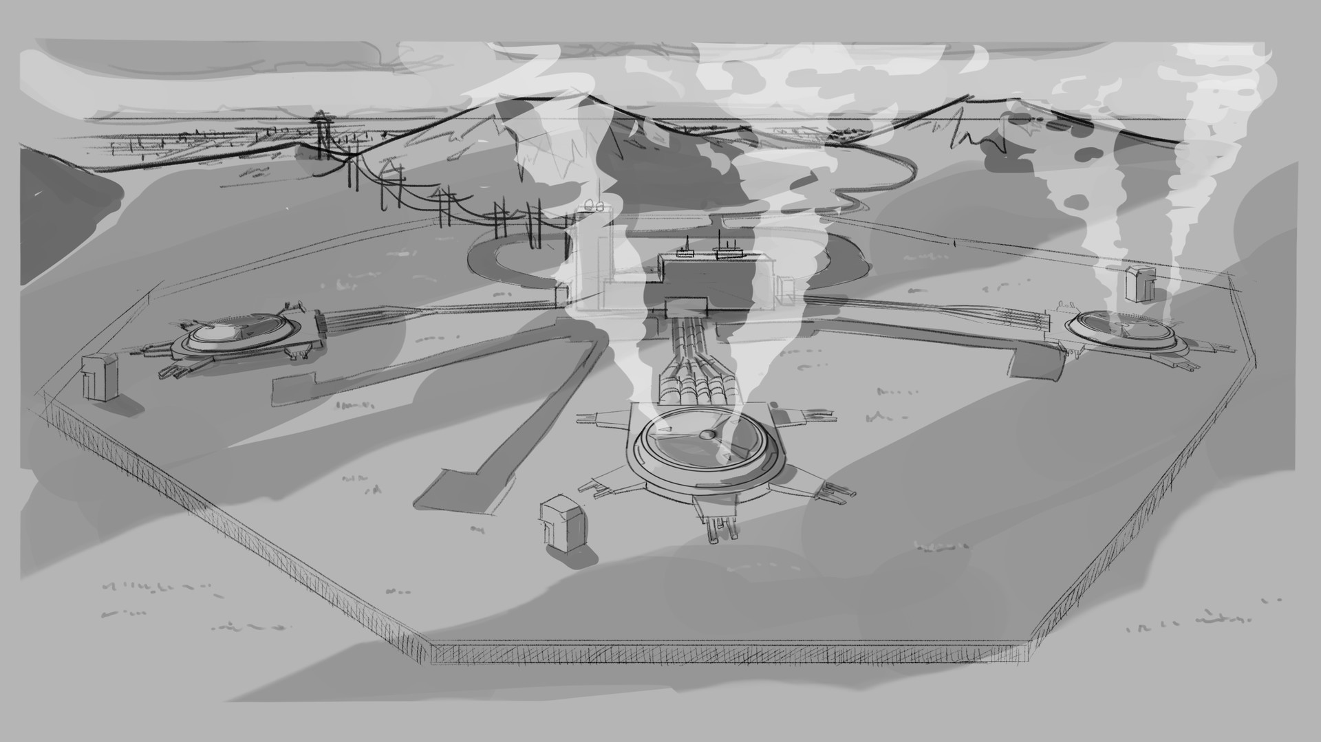 Erica Costello Geothermal Power Plant Concept Diagram 07 Wb2 Week 4 Development 04