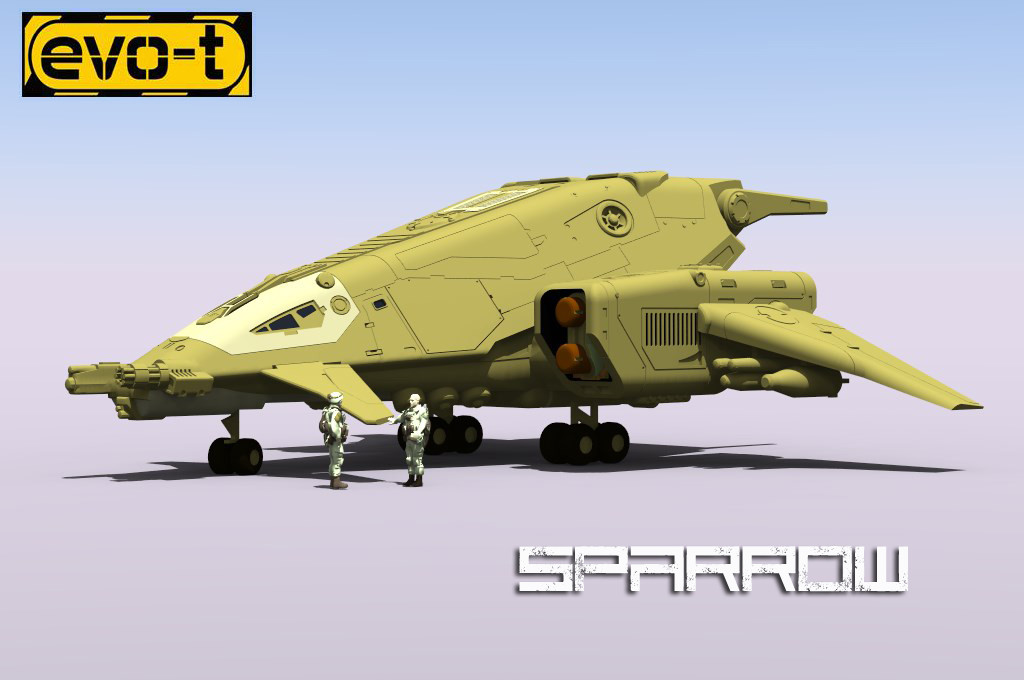 evo-t sparrow