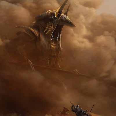 Martin deschambault aco anubis giant god mdeschambault
