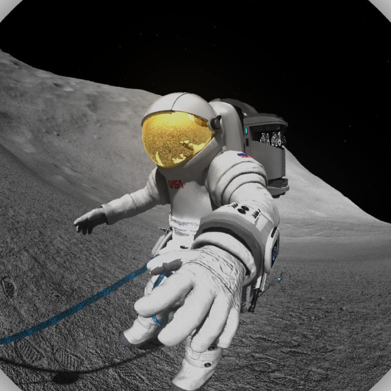 Glen johnson erosastronaut2