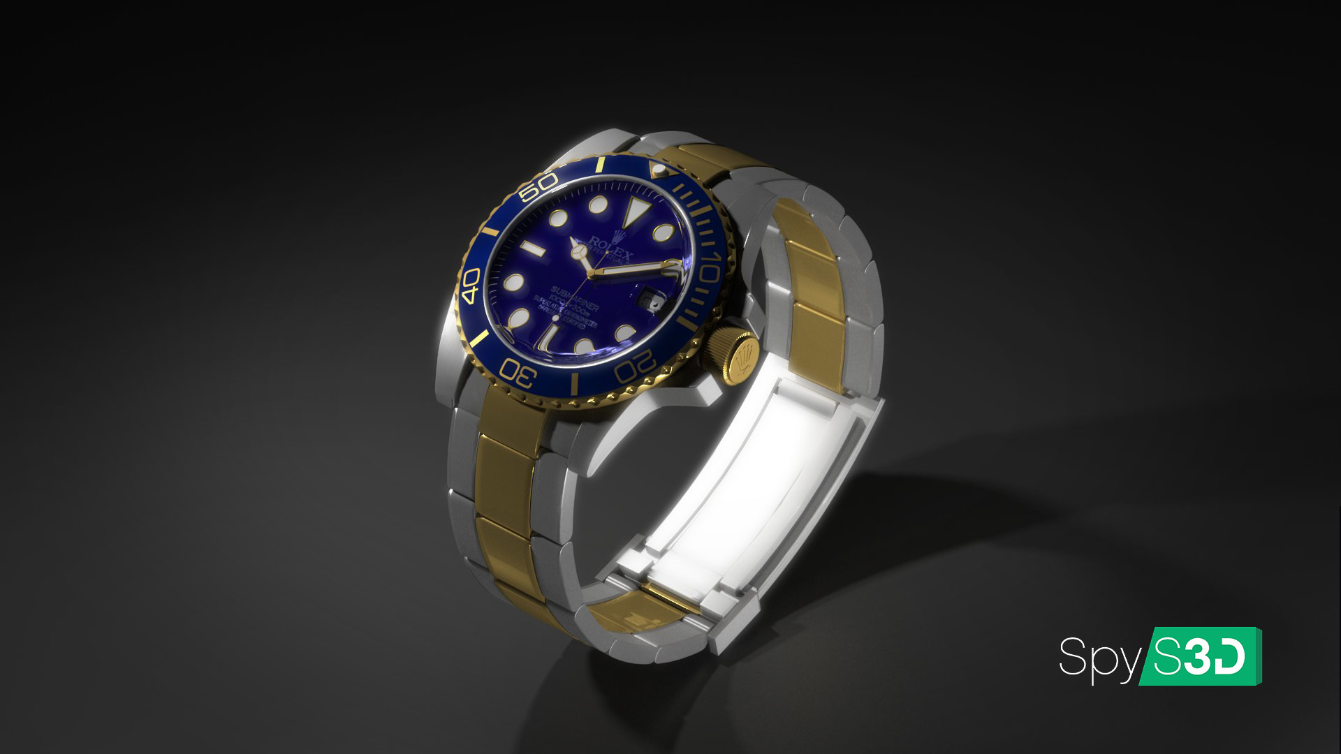 Spys3d Rolex Submariner 3d Model