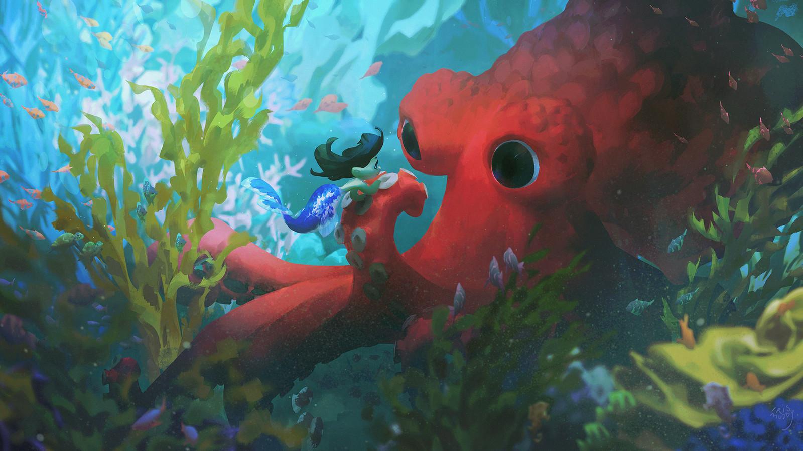 in an octopus' garden