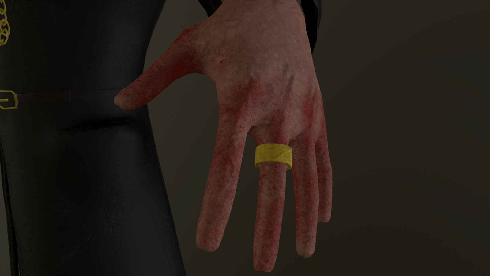 Ring & Hand Detail