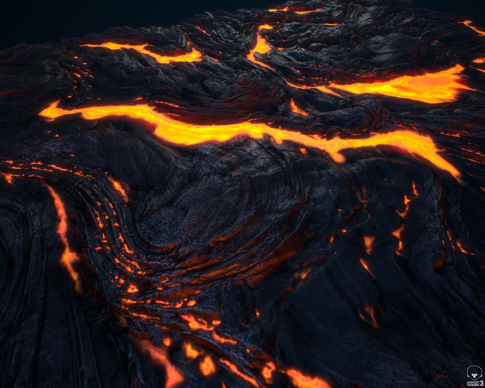 Lava - 100% Substance Designer