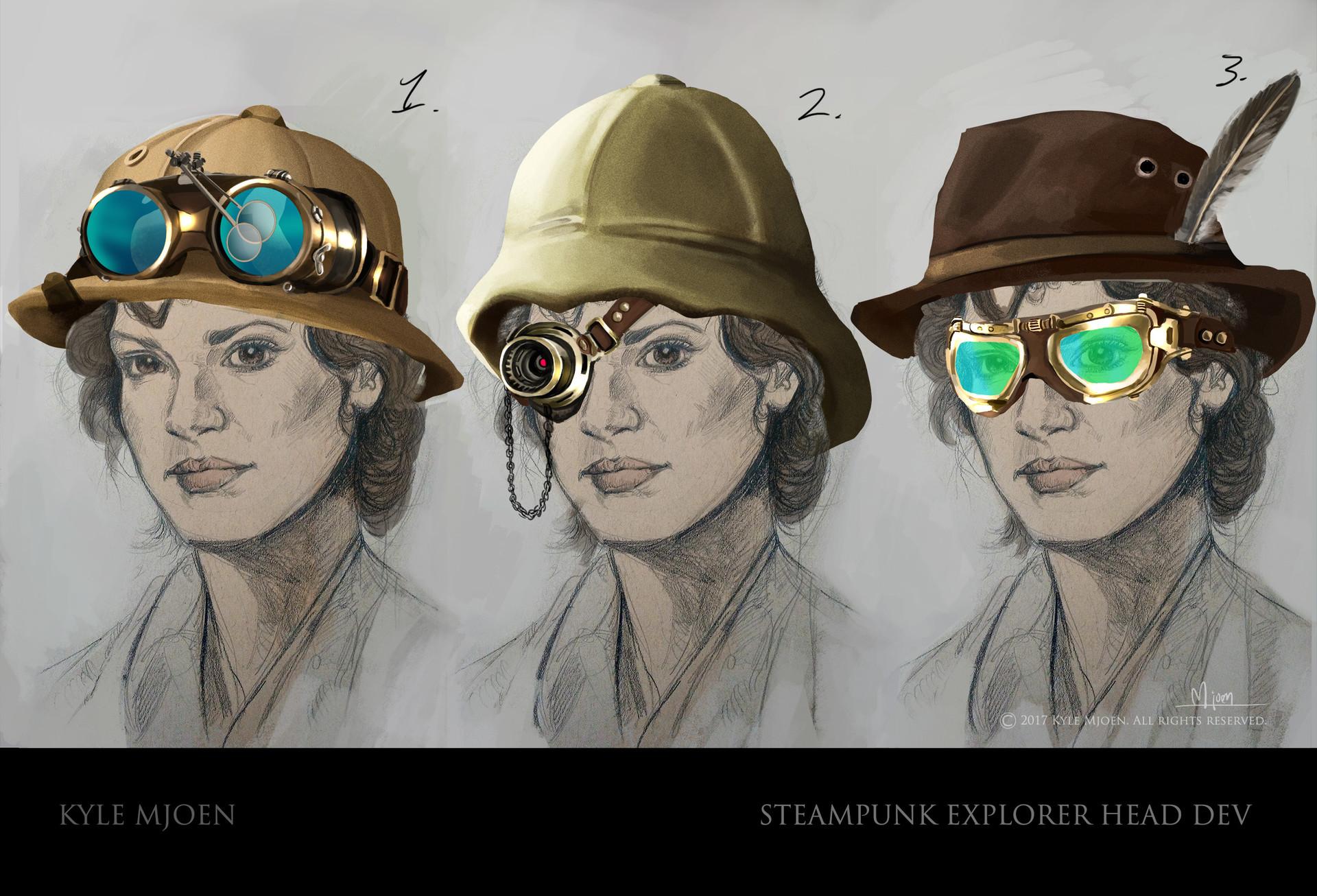 Kyle mjoen steampunk hex dev