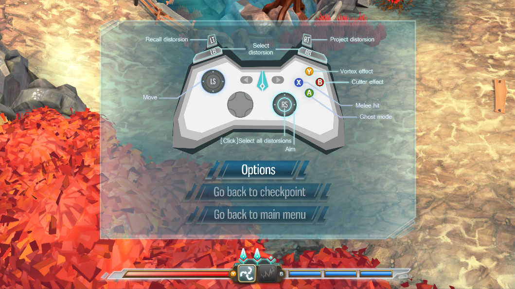 UI/UX created for the game.
