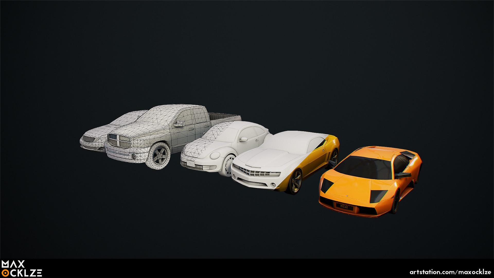 Max ocklze cars 3