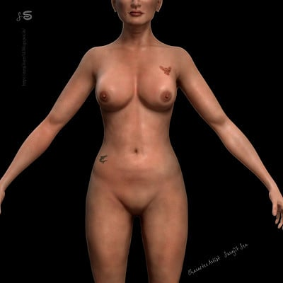 Surajit sen 17 female 3d low pol body profile surajitsen 24102017 a
