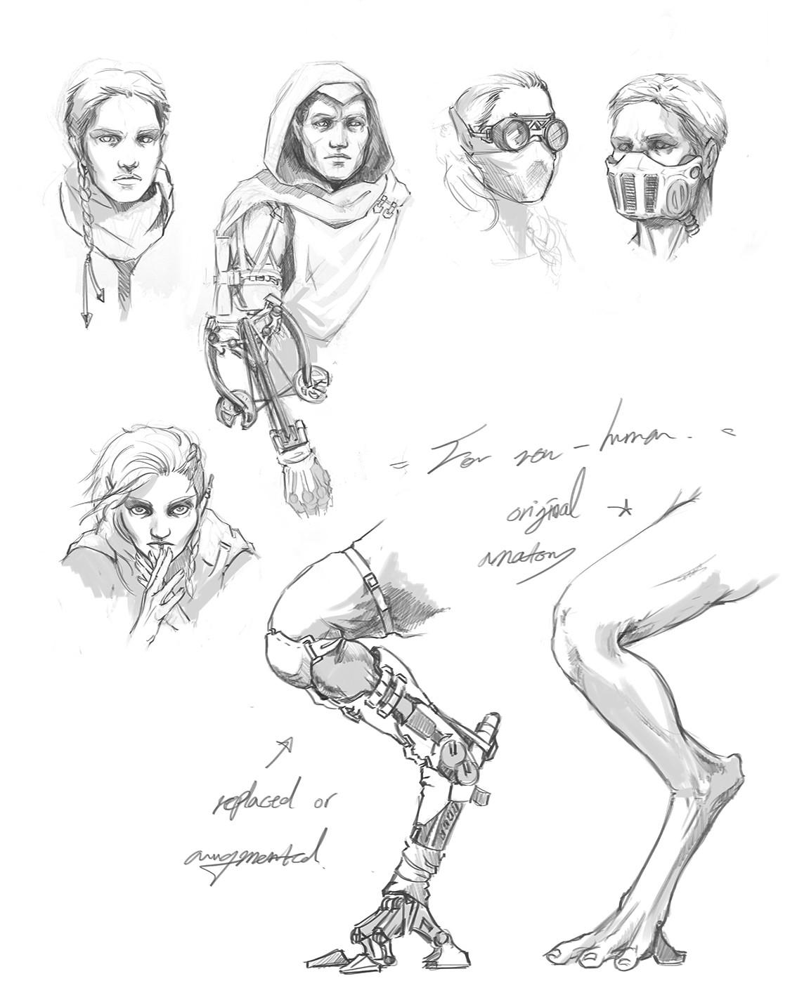Yun nam sci fan general sketch sheet 72
