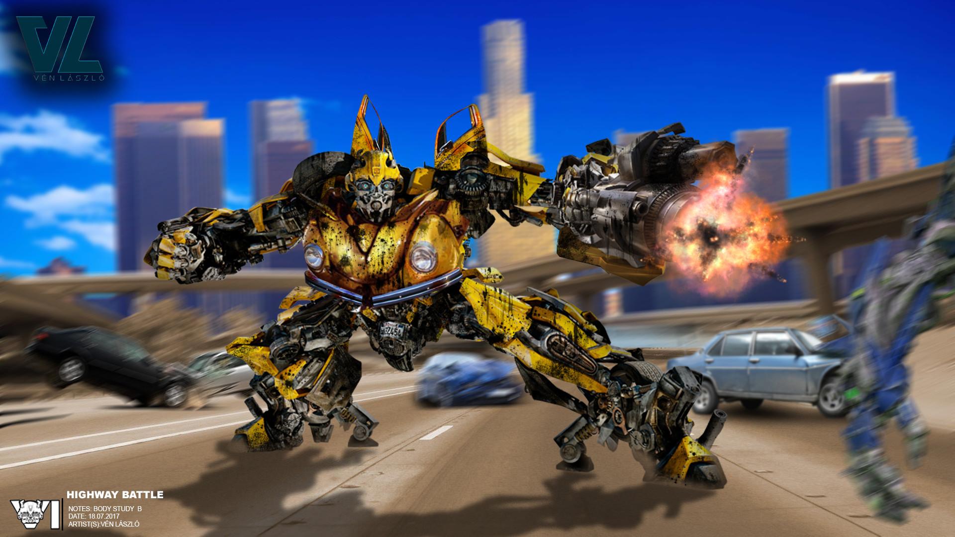 Transformers 5 Concept Art Bumblebee