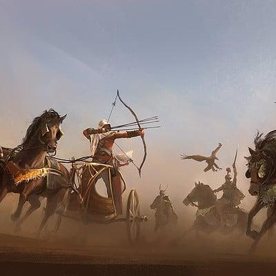 Martin deschambault aco bayek chariot action mdeschambault
