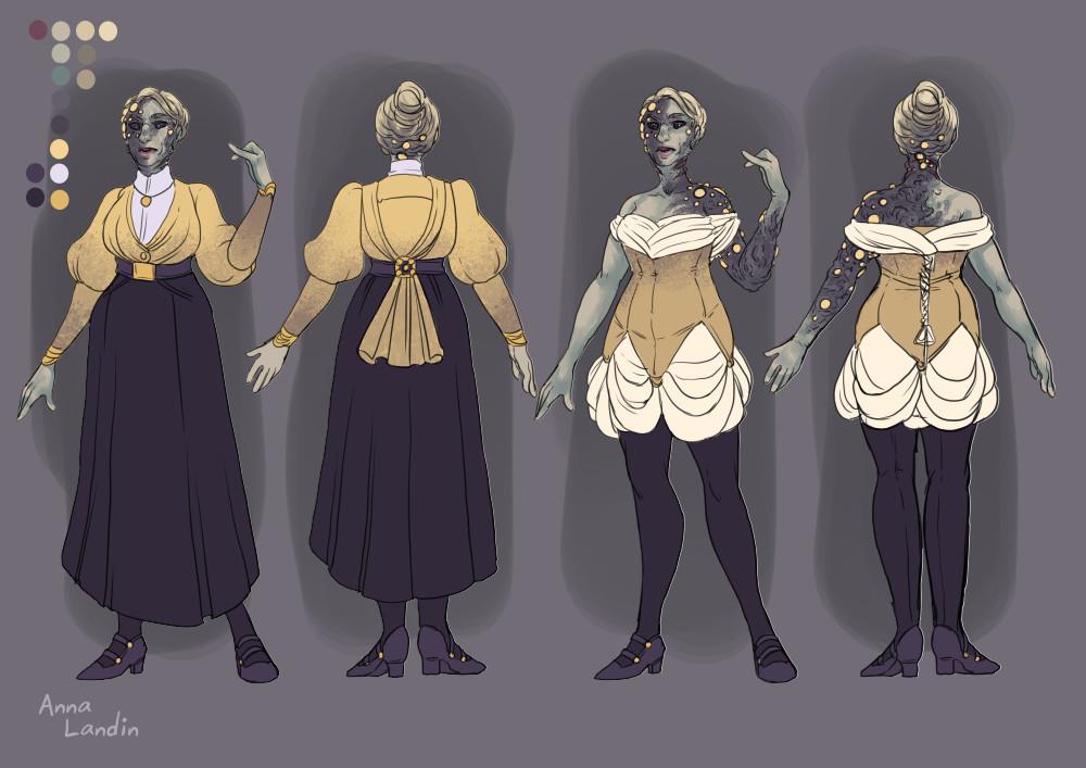 Anna landin patreoncharacterdesign eldritchhorrorwoman2