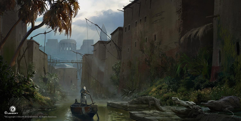 Artstation Assassin S Creed Origins Martin Deschambault