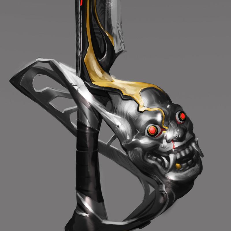 oni sword design