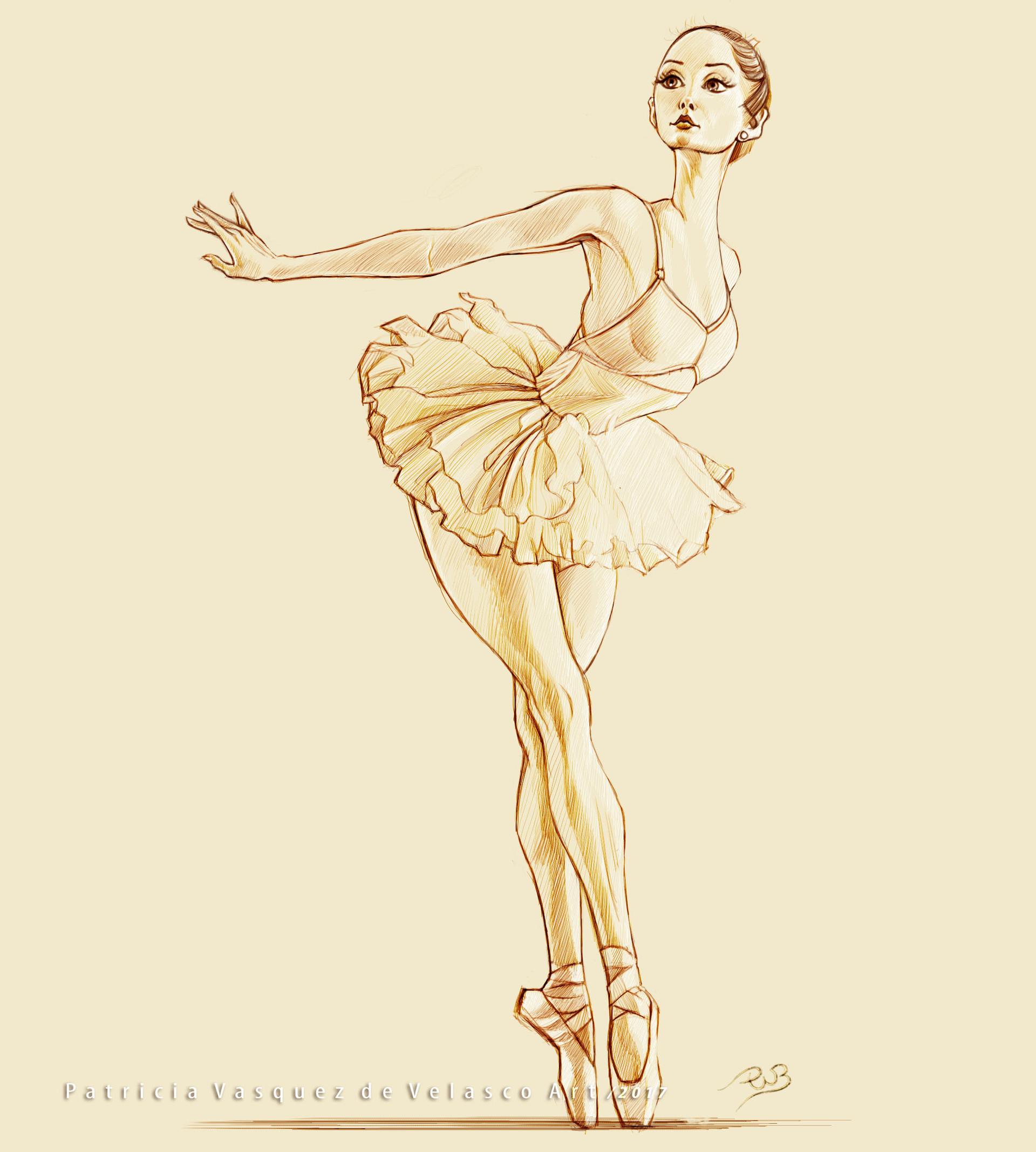 Patricia vasquez de velasco bailarina 01 tinta