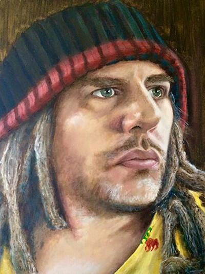 Self portrait by Ashley Potter