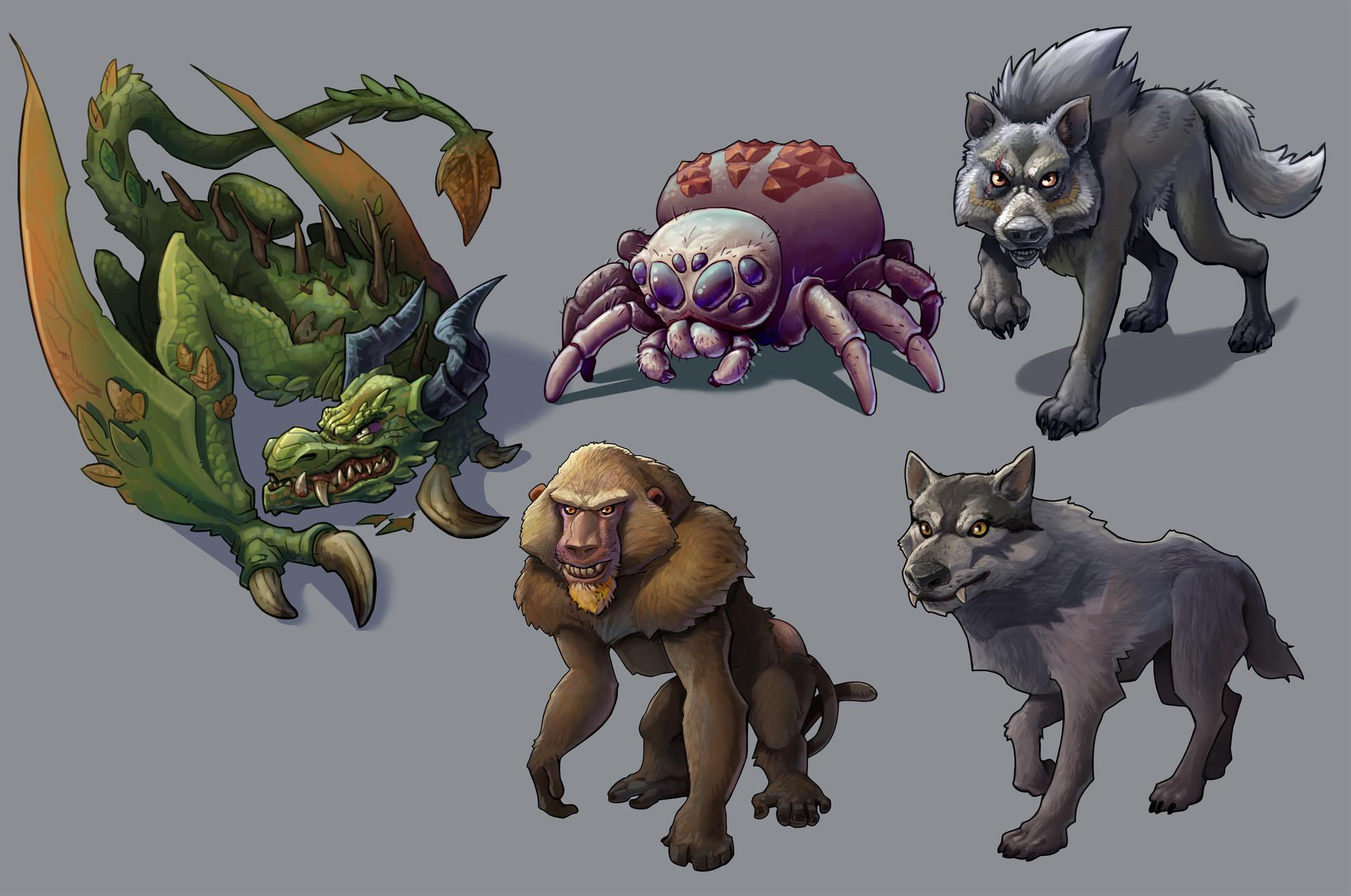Lloyd hoshide creatures