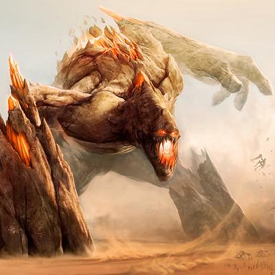Zsolt kosa earth colossus by zsoltkosa d3i9rgj