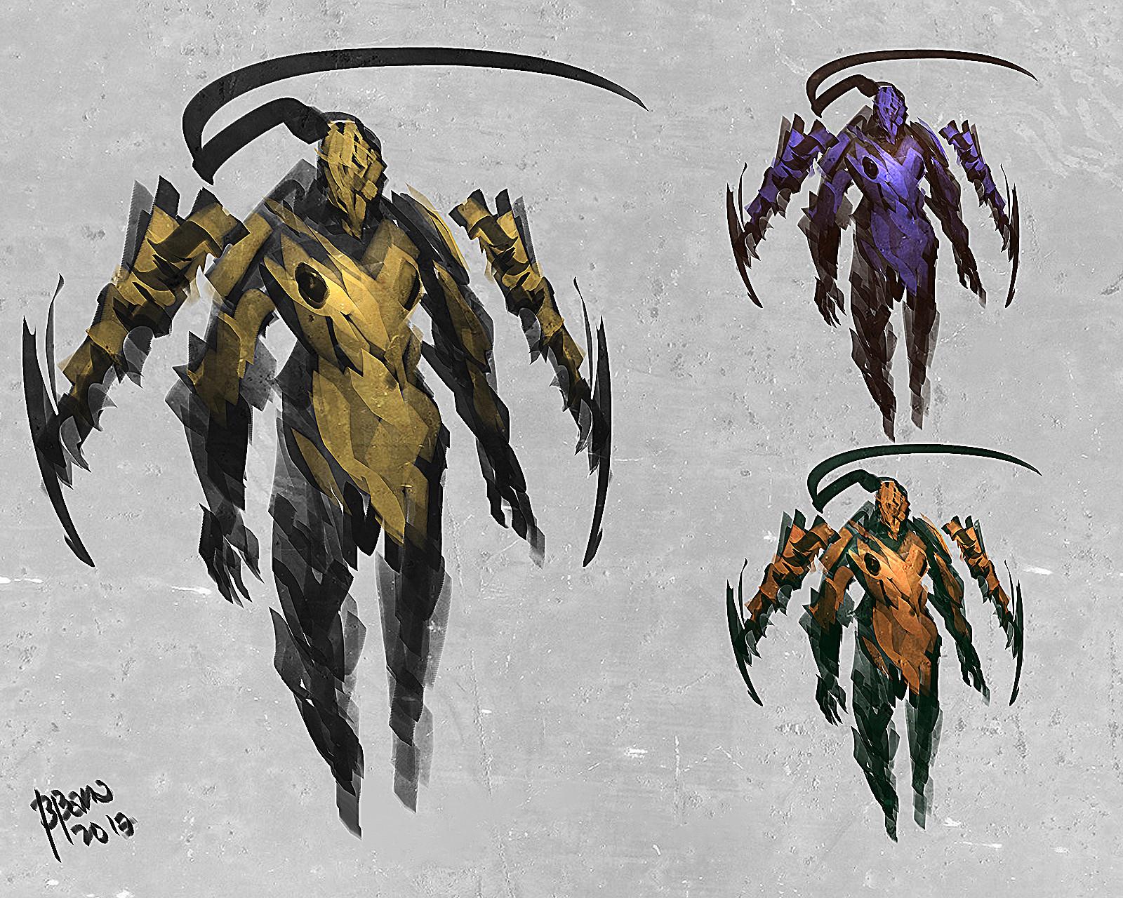 Benedick bana mantiscorpion 2