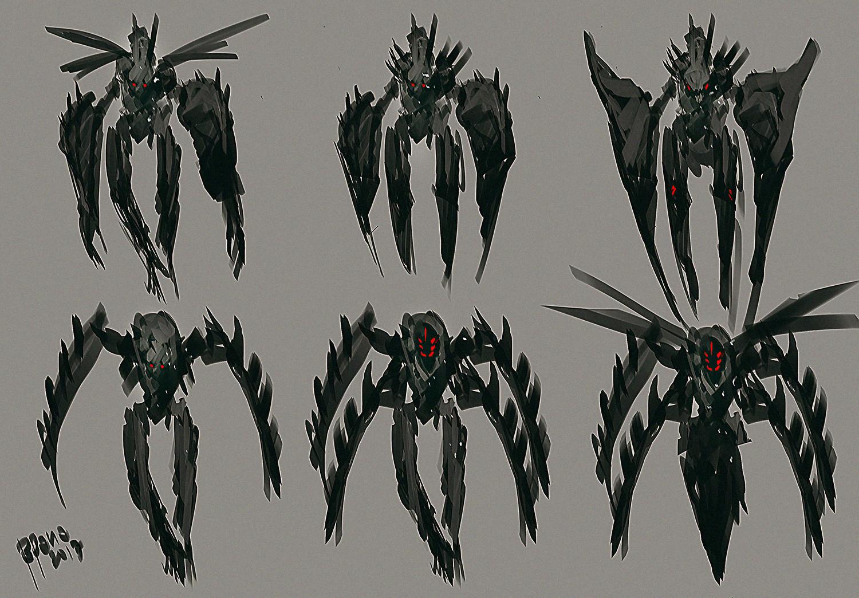 Benedick bana concept art creature freak002