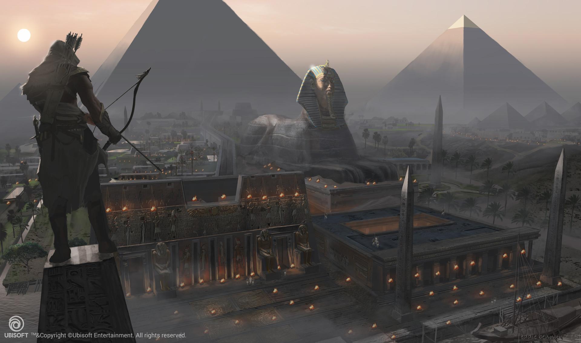 ubisoft excavated ancient egypt - 1040×613