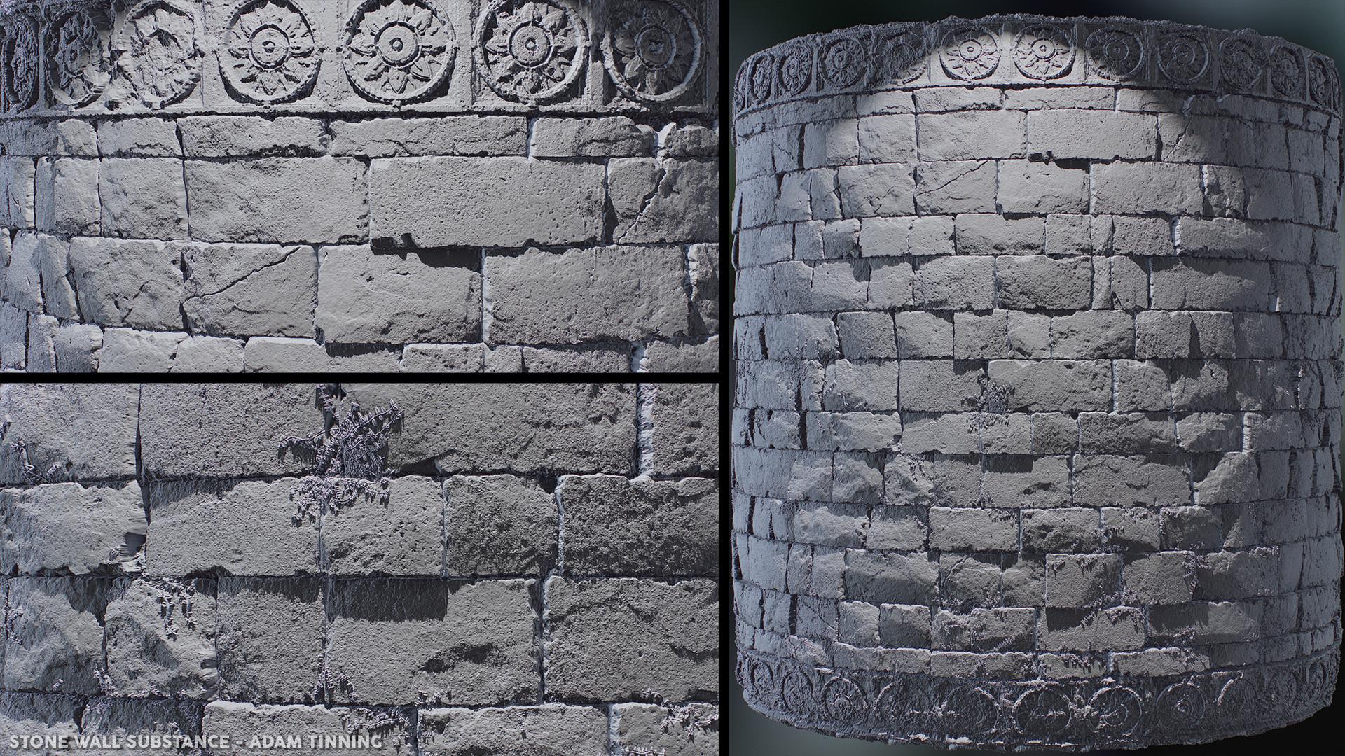 Adam tinning stonewall render 01