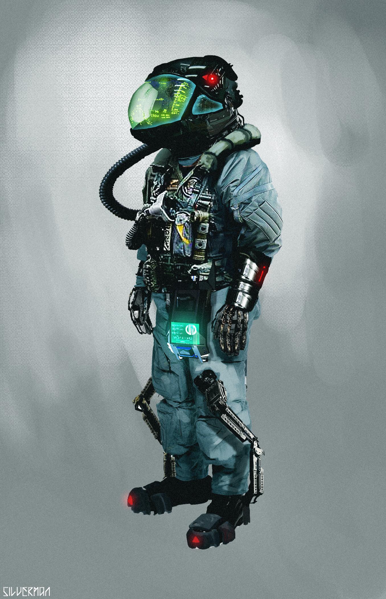 Samuel silverman space pilot
