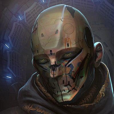 Rasmus poulsen mummified robotic deity