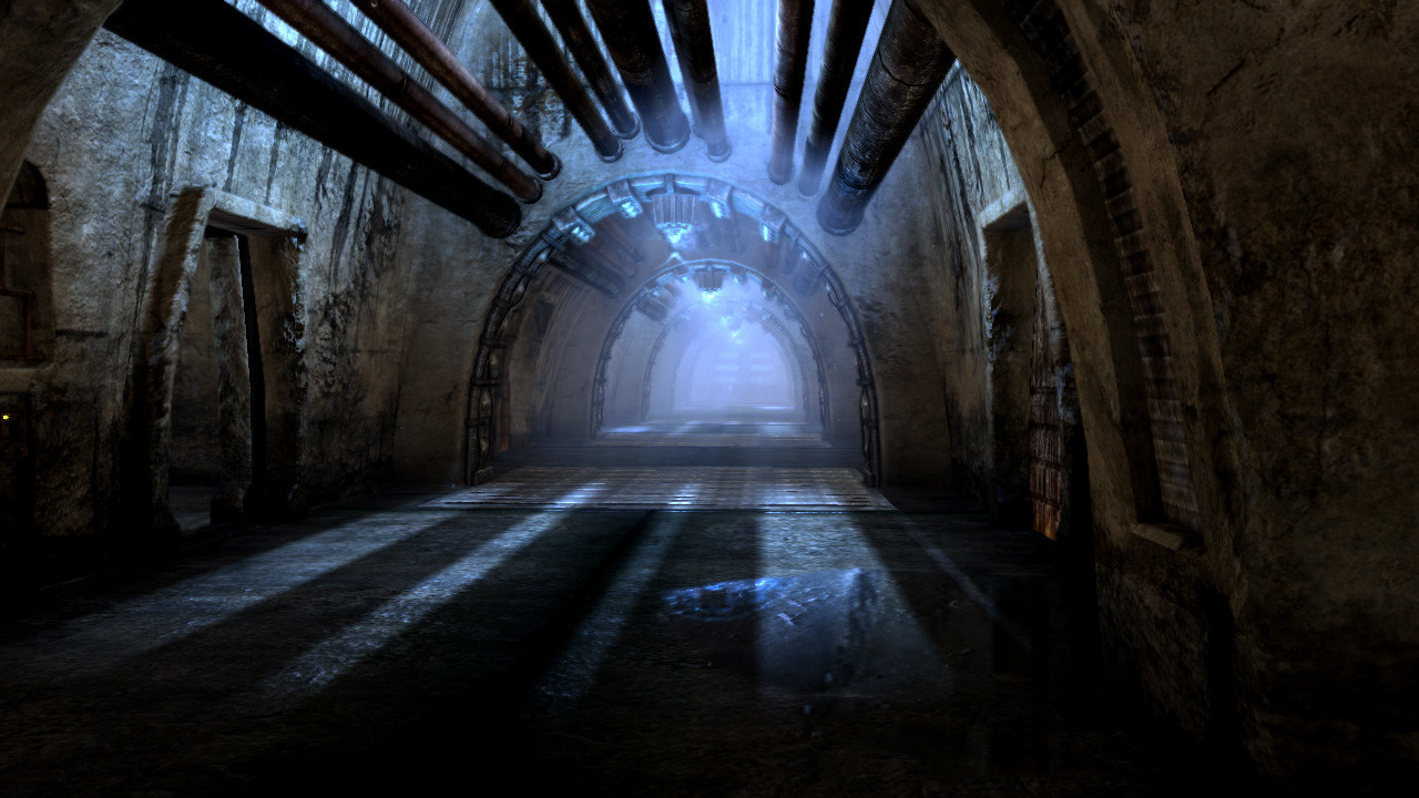 I designed, set dressed, created all the assets in, and lit this dungeon corridor.