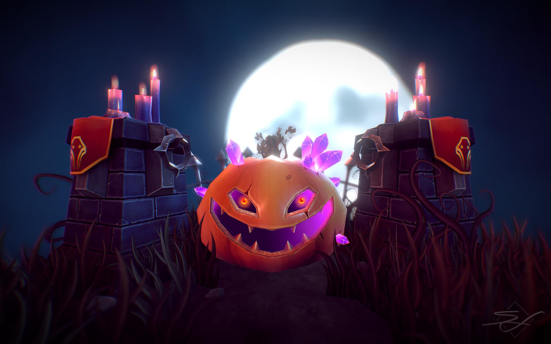 Sebastian irmer halloween rendering pbr