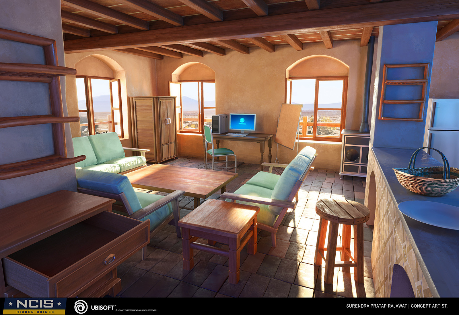 Surendra rajawat safe house concept