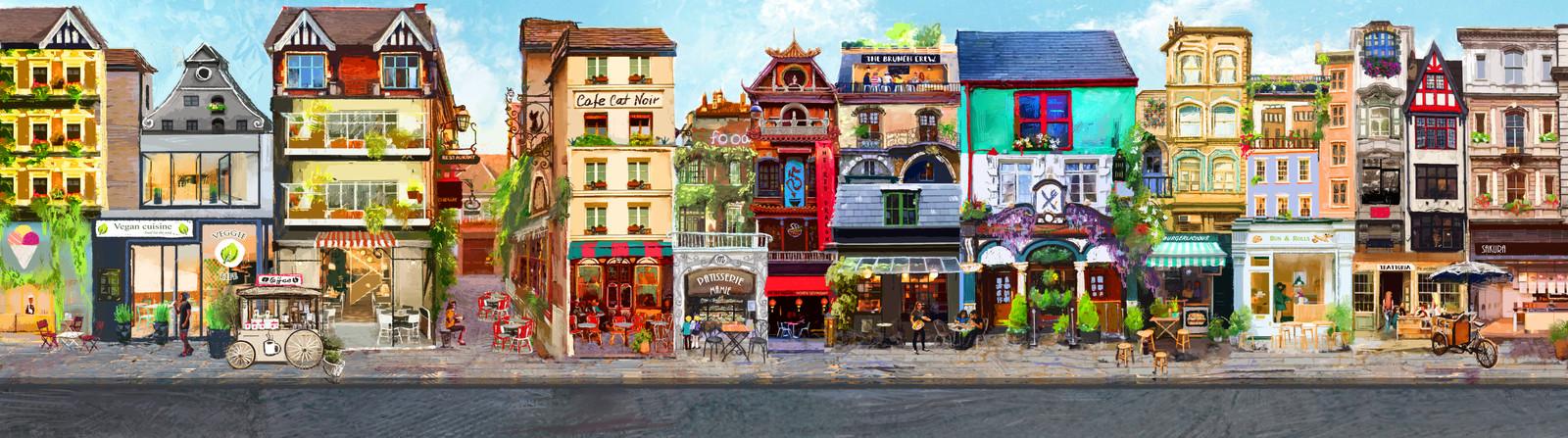 Restaurants street