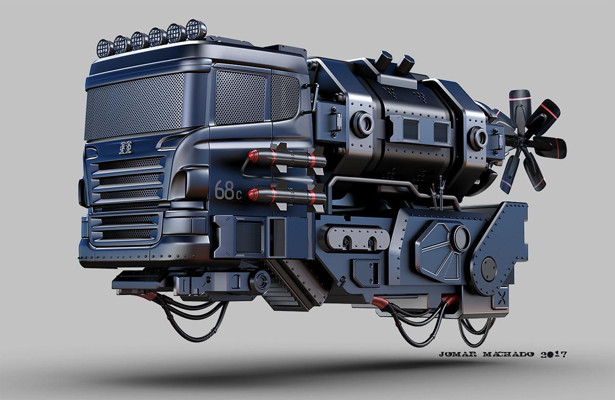 Jomar machado hover mini truck peq