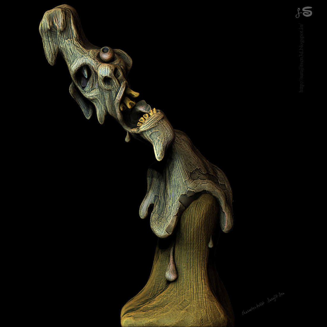 Halloween_Sculpt_SurajitSen_2017.