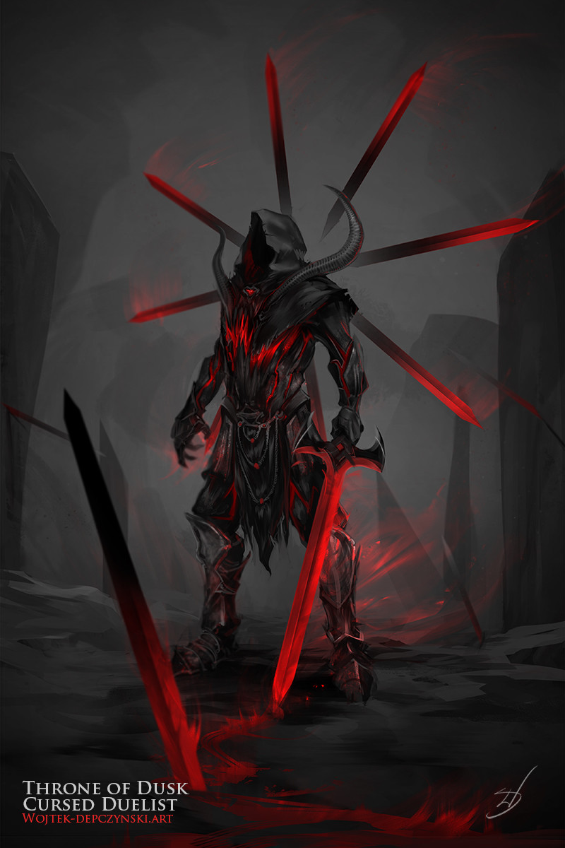 Wojtek depczynski cursed duelist2