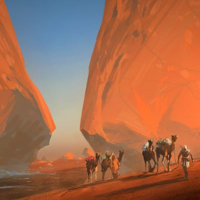 Raphael lacoste white desert by raphael lacoste