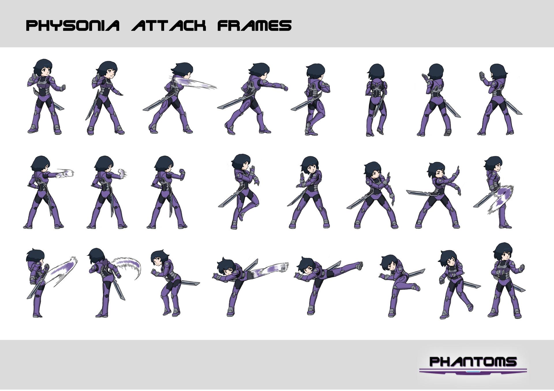 Jun Yi - Physonia Attack Frame