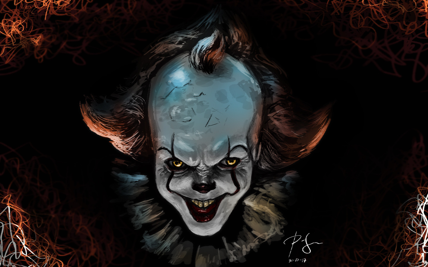 268a699fc6 Pennywise the Dancing Clown Final image. WIP. Ray Joshoa Dulay
