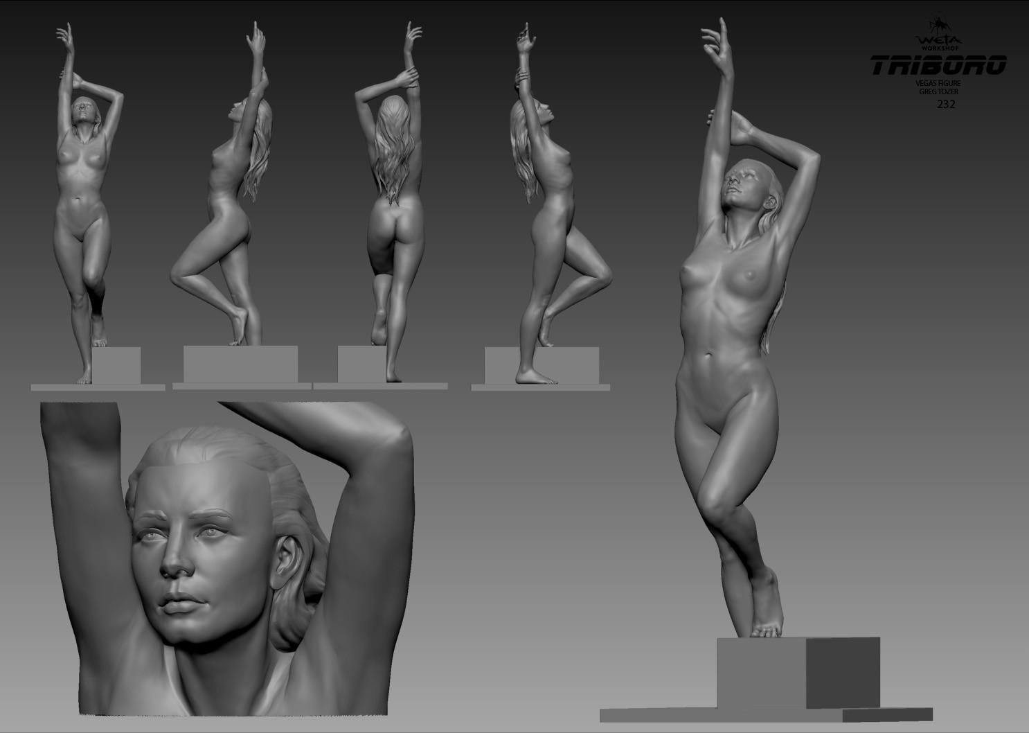 Las Vegas Figure - Artist: Greg Tozer