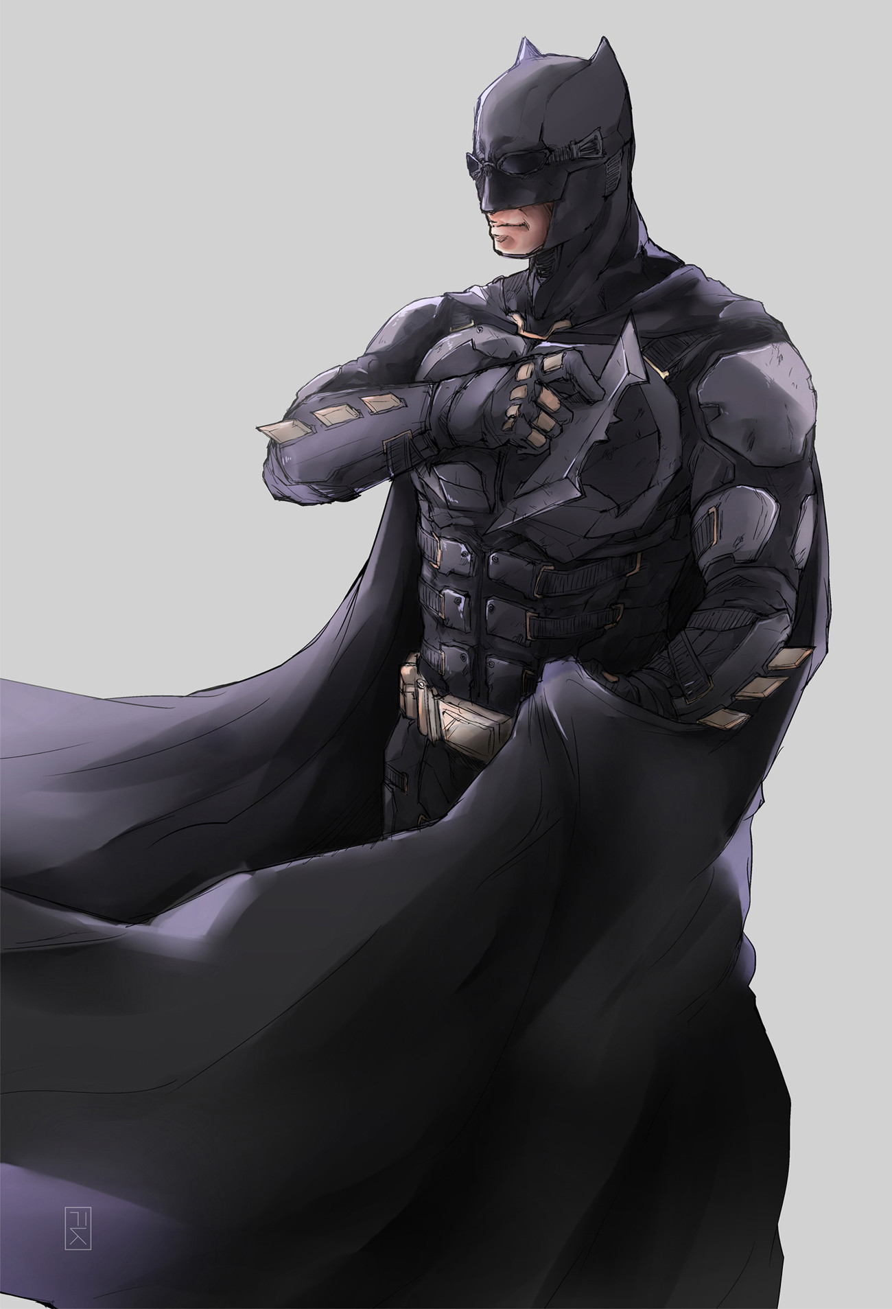 Mieux vaut se savoir un ami dans l'ombre, que demeurer seul en pleine lumière (Batman)  Fianto-kargono-tactical-batsuit-artstation