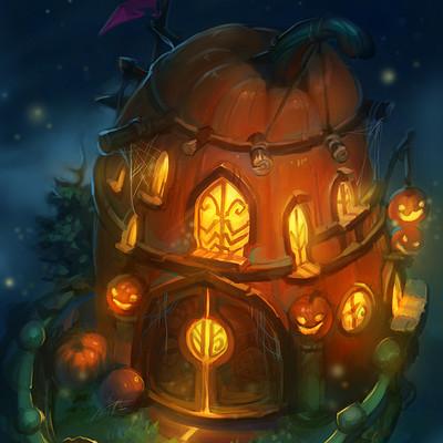 Grace liu 20171031 pumpkin