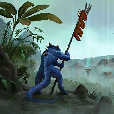 Milek jakubiec lizardmen010
