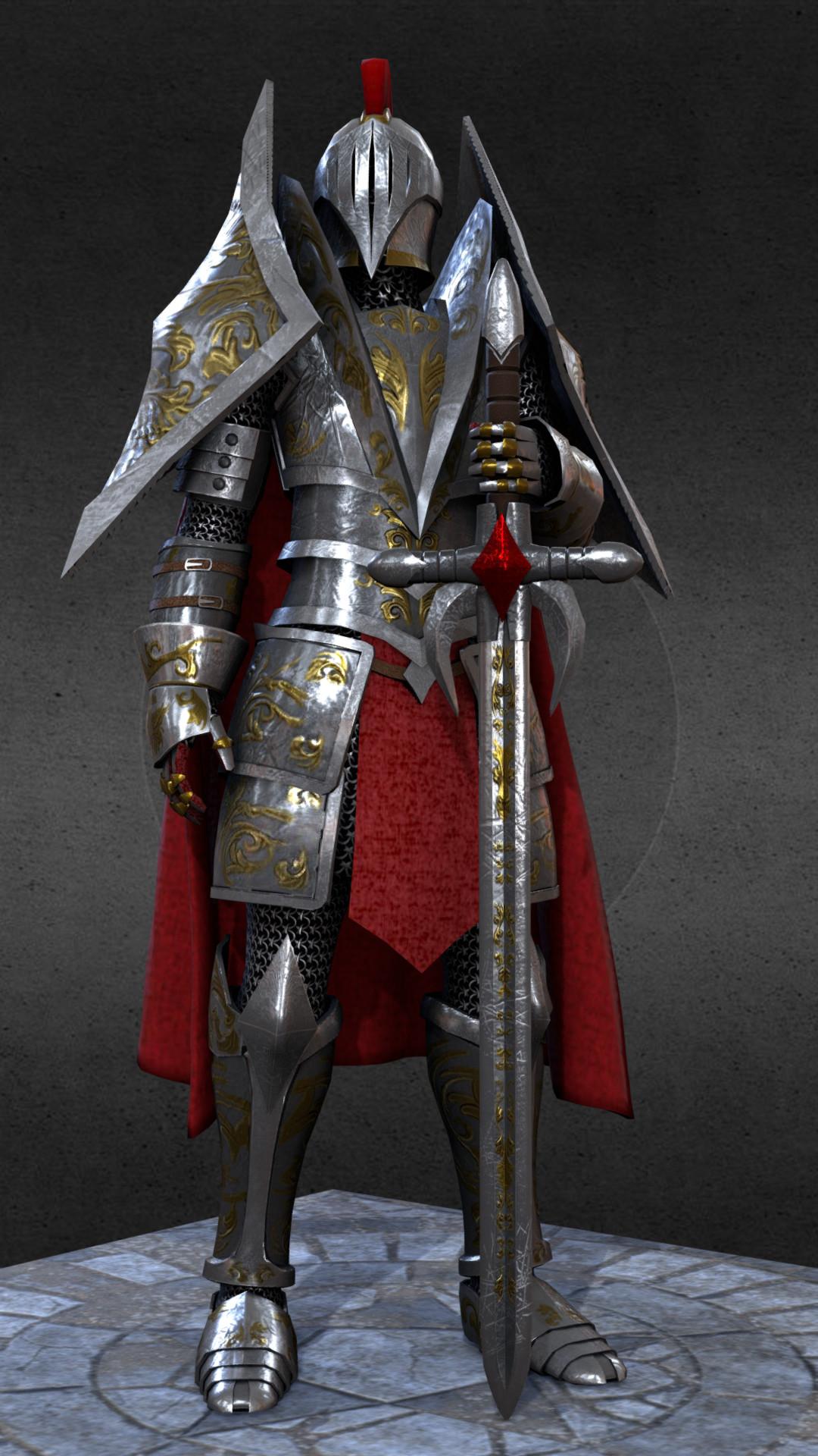 Ivan batalla knight medieval fantasy 3