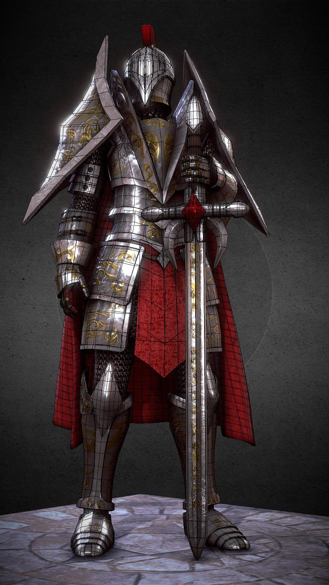 Ivan batalla knight medieval fantasy 5