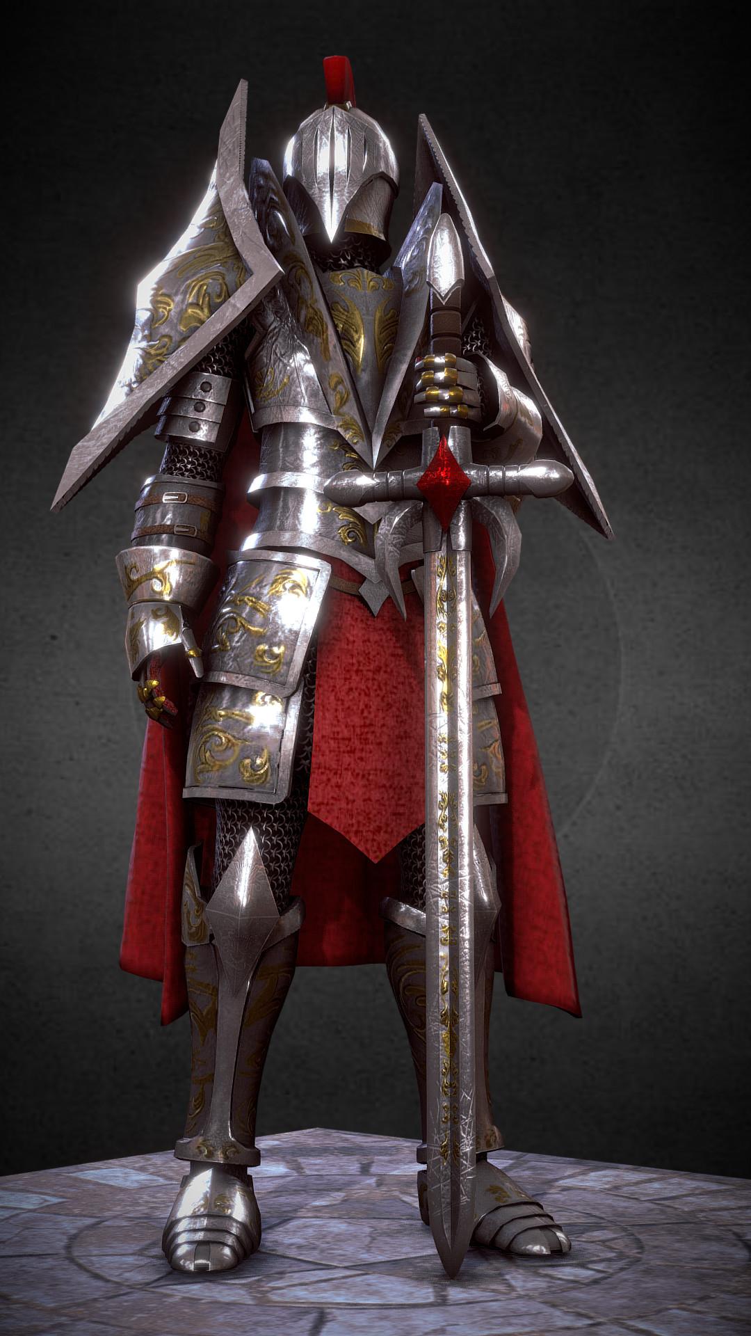 Ivan batalla knight medieval fantasy