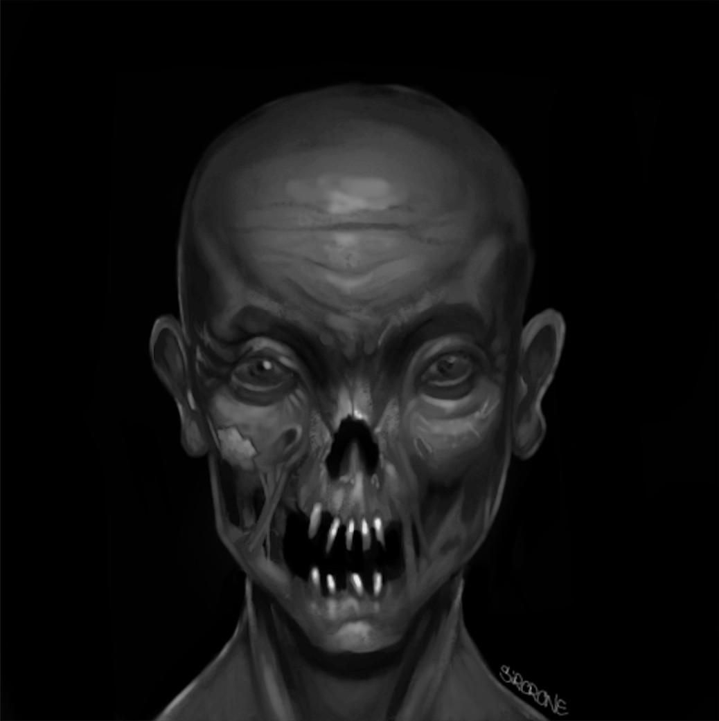 Joe scrivens skull zombie test2