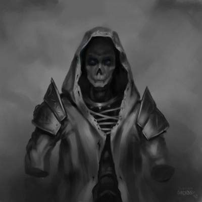 Joe scrivens cloak skull